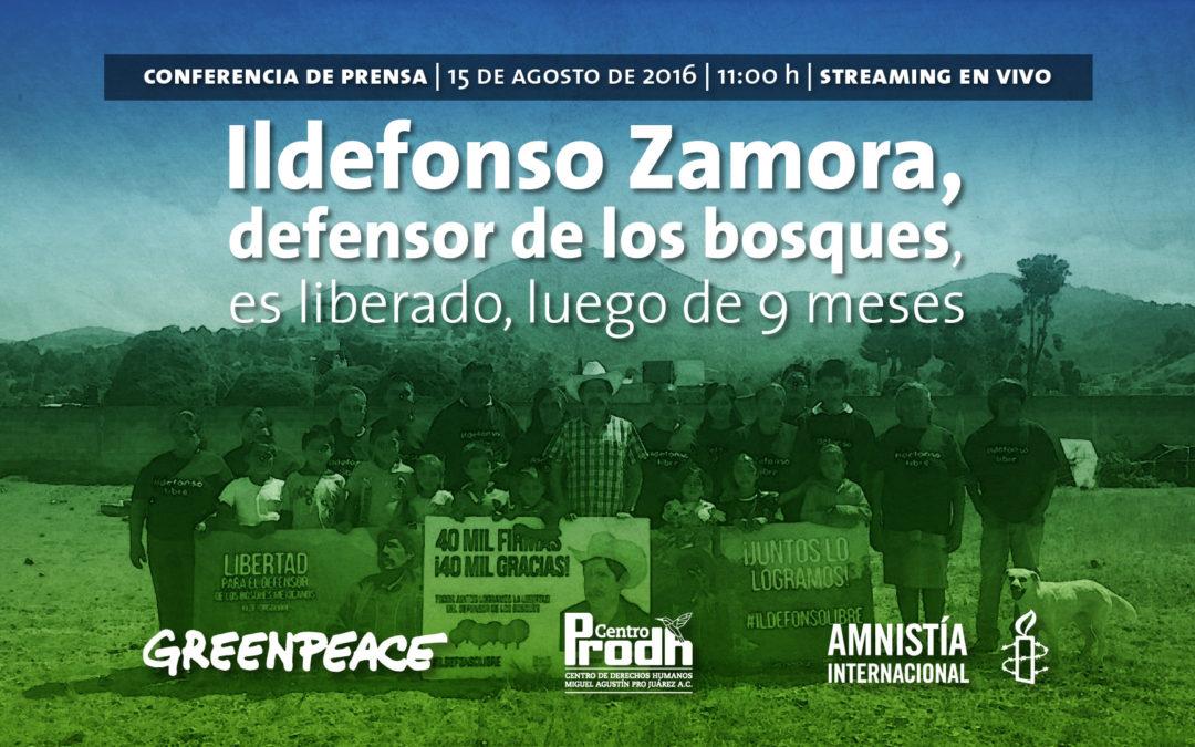 Ildefonso Zamora consigue su libertad, la criminalización familiar continúa