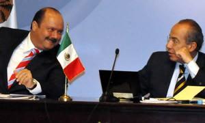 César Duarte con Felipe Calderón