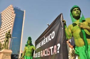 El Regreso de los Indios Verdes: campaña contra el racismo