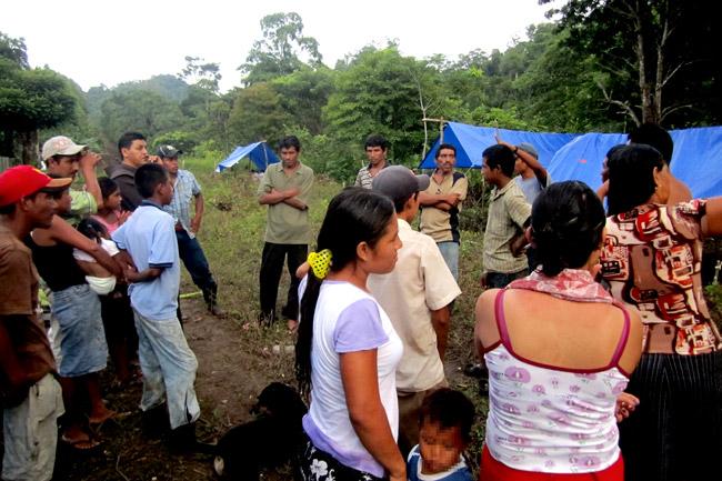 Comunidad de Desplazados