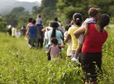 Desplazados en Tenosique