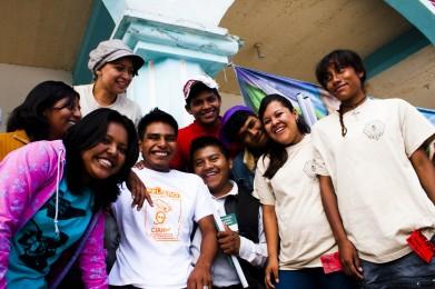 Jóvenes de La Voz de la Costa Chica