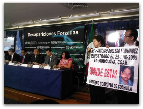Desapariciones Forzadas ONU