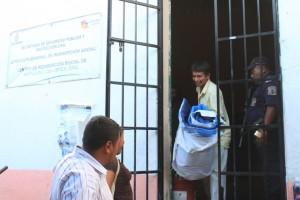 Maximino García Catarino al momento de ser liberado / Imagen: Tlachinollan
