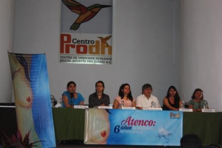 Conferencia Atenco 6 años
