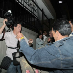 Las agresiones contra periodistas van en incremento