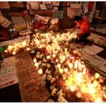 Rito de conmemoración de víctimas, un dolor persistente...