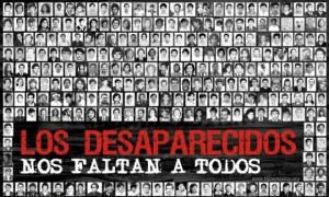 Imagen de HIJOS sobre desapariciones forzadas históricas