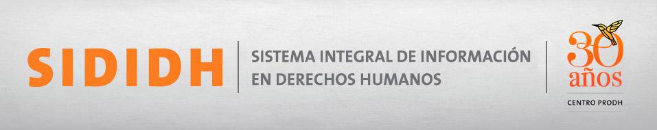 Sididh 2.0 Actualizando el Estado de los Derechos Humanos