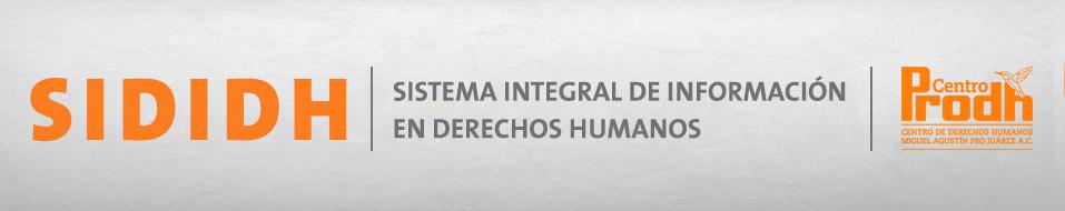 Sididh 3.0 Actualizando el Estado de los Derechos Humanos