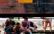 Migrantes que cruzan territorio mexicano/Foto: Somos migrantes