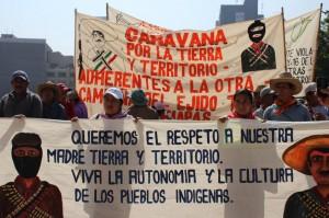 Ejido Tila sigue en lucha/ Foto: César Martínez