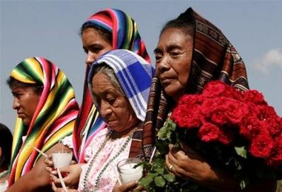 Indígenas salvadoreñas