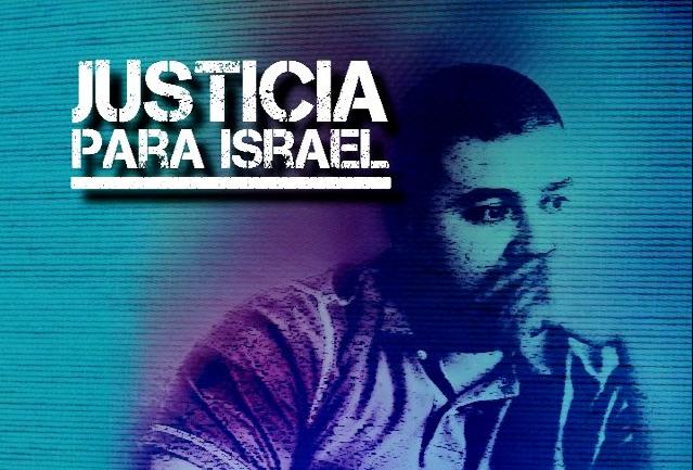 Imagen de campaña Justicia para Israel
