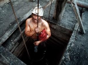 Minero trabajando / Foto cortesía de Miguel Sierra