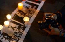 Altar por el asesinato de Gregorio   Imagen retomada de Internet