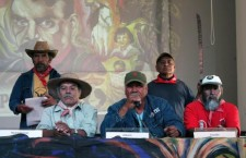 Durante conferencia del Frente de Pueblos en Defensa de la Tierra | Foto: Alina Vallejo