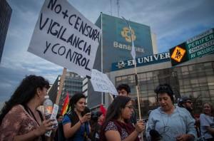 "Marcha ""No más poder al poder""   Foto: César Martínez"