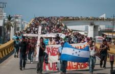 Viacrucis migrante. Imagen retomada de www.avcnoticias.com.mx