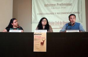 Presentación de informe preliminar | Foto: Alina Vallejo