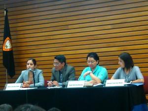 Foro Tortura e impunidad en México | Foto: Olivia Vázquez