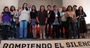 Presentan campaña Rompiendo el silencio | Foto: Alina Vallejo