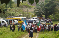 Familias guatemaltecas desplazadas en México, 2011 | Imagen retomada de unipegue.com
