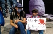 """No + sangre de periodistas"" | Foto: Olivia Vázquez Herrera"