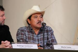 Mario Luna   Foto: Misión Civil de Observación de la Consulta a la Tribu Yaqui