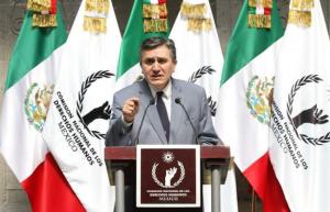 Luis Raúl González Pérez, presidente de la CNDH | Foto retomada de Noticias MVS