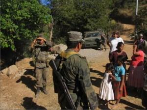 Militarización en Guerrero / Foto: Tlachinollan