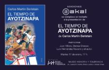 """Presentación del libro """"El tiempo de Ayotzinapa"""" en la Universidad Iberoamericana"""