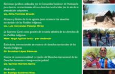 Mesa de análisis sobre defensa del territorio de la comunidad indígena de Huitosachi