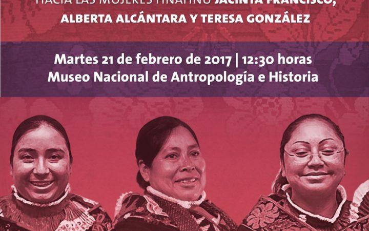 PGR reconocerá públicamente la inocencia de Jacinta, Alberta y Teresa, hñähñús encarceladas injustamente