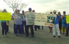 Campesinos defienden sus terrenos comunales de la ocupación ilegal de CFE