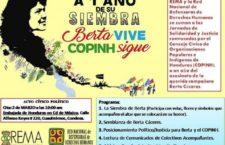 Acto cívico-político: A un 1 año de su siembra Berta vive, COPINH sigue