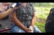 Video | Madres esperan información de fosa encontrada en Minatitlán, Veracruz
