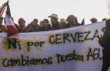 Ciudadanos logran suspender construcción de cervercera en Mexicali