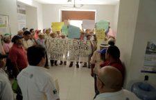 Protestan por anomalías en Chocholá, Yucatán