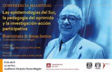 Conferencia magistral de Boaventura de Sousa Santos