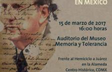 Conferencia: Juan Méndez, un relato de mi experiencia en México