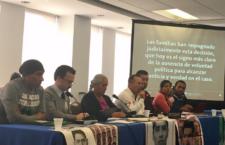 Ante CIDH, familiares de los 43 denuncian obstáculos a la verdad mientras el Estado desacredita recomendaciones del GIEI