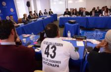Imagen de la audiencia de Ayotzinapa | CIDH