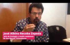 Video | Acusan a textilera de contaminar el agua y la tierra con químicos en Puebla