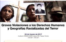 Seminario de Derecho Crítico: Graves Violaciones a los Derechos Humanos y Geografias Racializadas del Terror