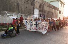 Más de 200 migrantes marchan desde la frontera sur hasta Estados Unidos para denunciar los abusos en el tránsito