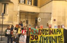 Campaña Internacional contra la Desaparición Forzada en México llega a Italia tras su paso por París