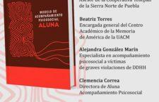 Presentación del libro: Modelo de acompañamiento psicosocial Aluna