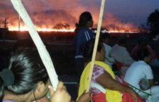 Exigen detener la construcción de la subestación eléctrica y del parque eólico de la SEDENA en tierras comunales de San Blas Atempa