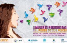 """Foro """"Mujeres periodistas, el poder de sus voces"""""""